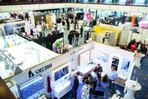 Gut 70 Lieferanten stellten auf der Jahreshauptversammlung der SHK AG in Berlin aus.
