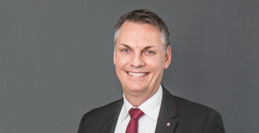 Sven Mischel, Vorstand der SHK AG
