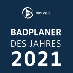 SHK Badplaner des Jahres 2021