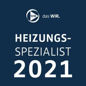SHK Heizungsspezialist 2021